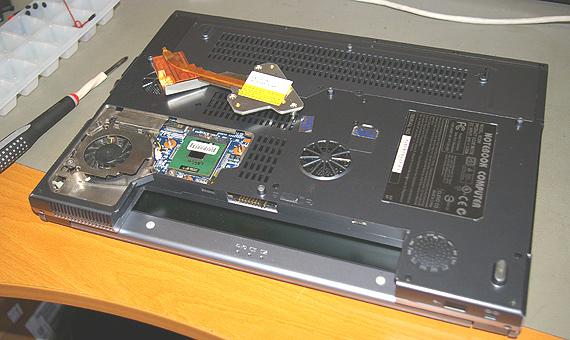 Laptop processzor