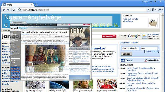 Google Chrome webböngésző-teszt a6620b012c