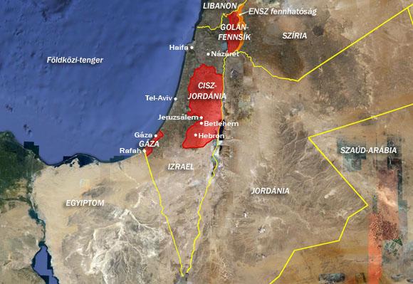 """Képtalálat a következőre: """"ciszjordánia térkép"""""""