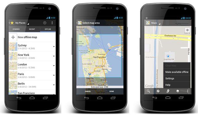Internet Nelkul Is Navigal A Google Terkep