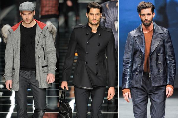 20eb953fdf John Richmond, John Richmond, Diesel Black Gold. Az őszi-téli férfiruhatár  alapja a kabát ...