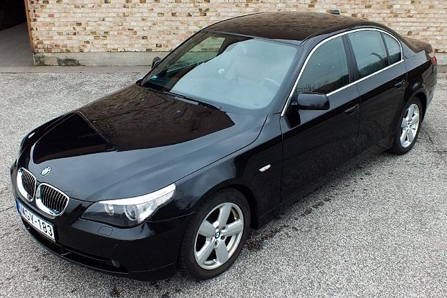 Költséges presztízs elérhető áron BMW 530d (2006) használt