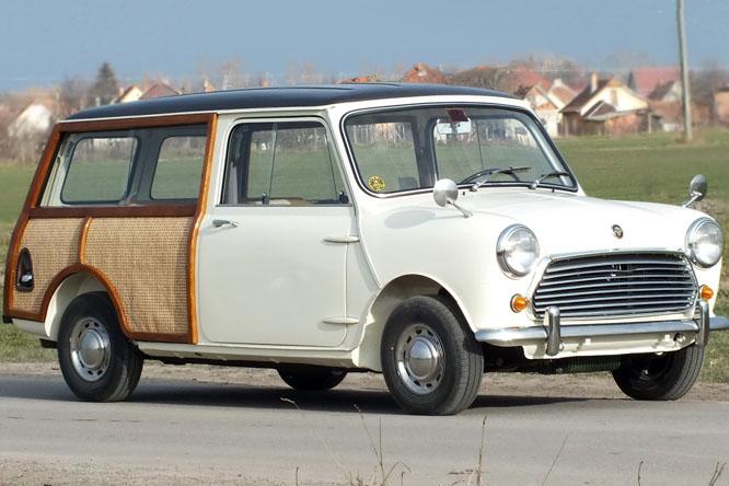 Törpekamion Mini Countryman 10 Mk2 1968veteránteszt