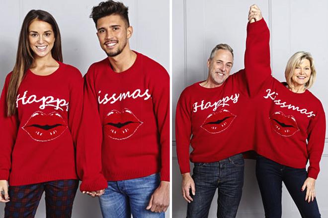 Vicces karácsonyi pulcsi pároknak 83b5ed9f1a