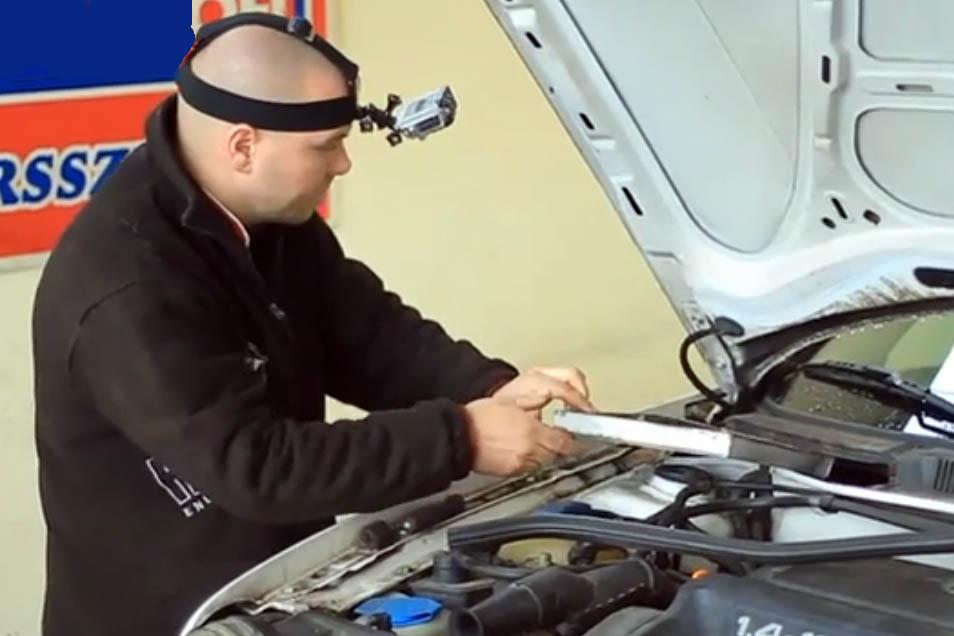 Autó szellőzőrendszer tisztítása