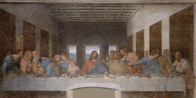 Az utolsó vacsora asztalterítője lenne a rejtélyes ... 030d6008ba