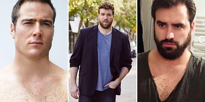 f2914f4e08ad Ők a legdögösebb plus size férfi modellek - Fotó