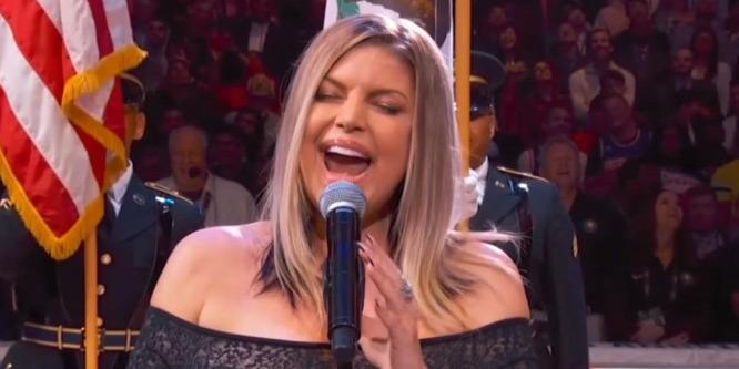 Kínos röhögés lett Fergie szexinek szánt himnuszelőadásából 4f477f4675