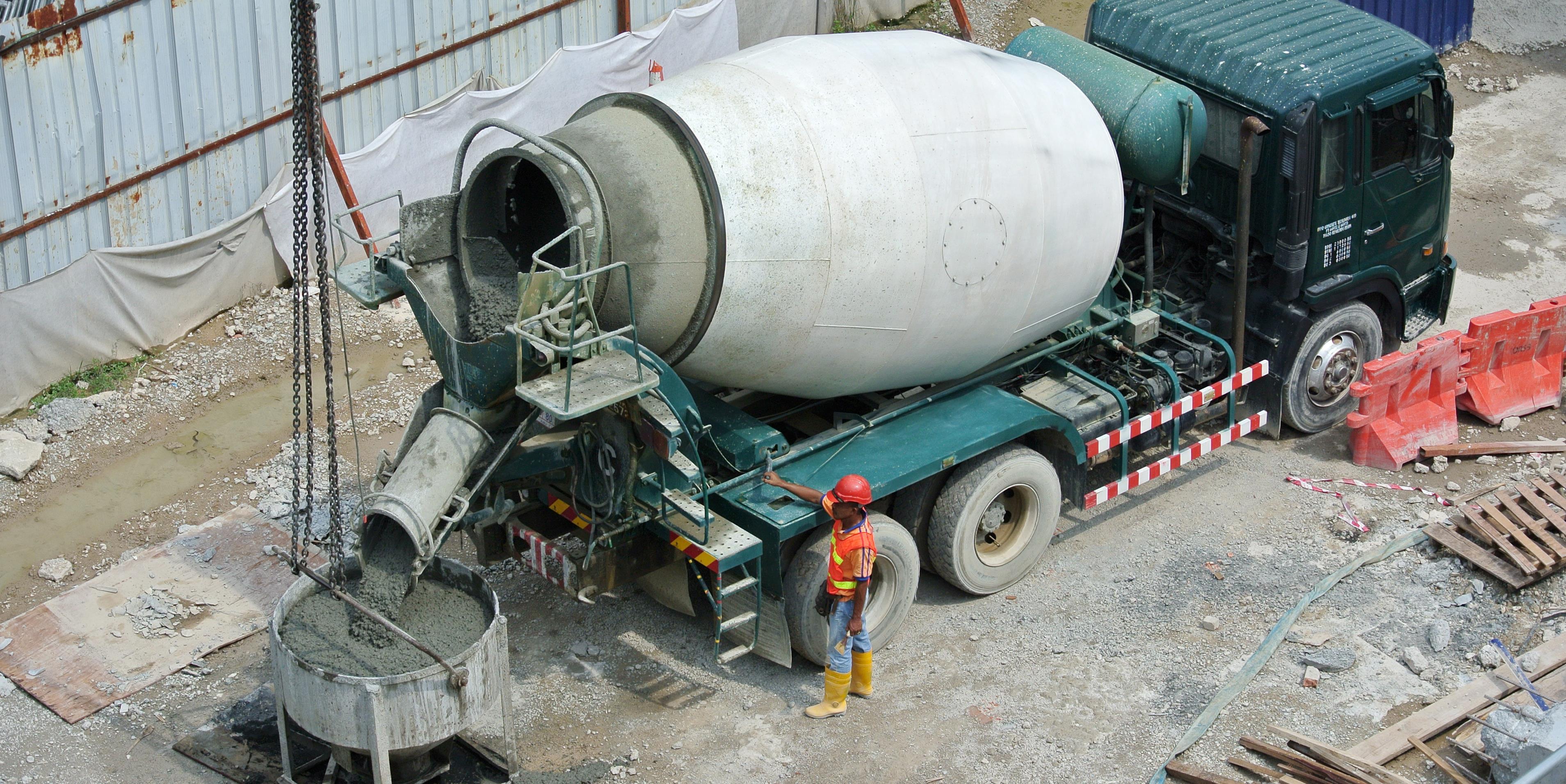 Betonkeverés betonkeverő nélkül