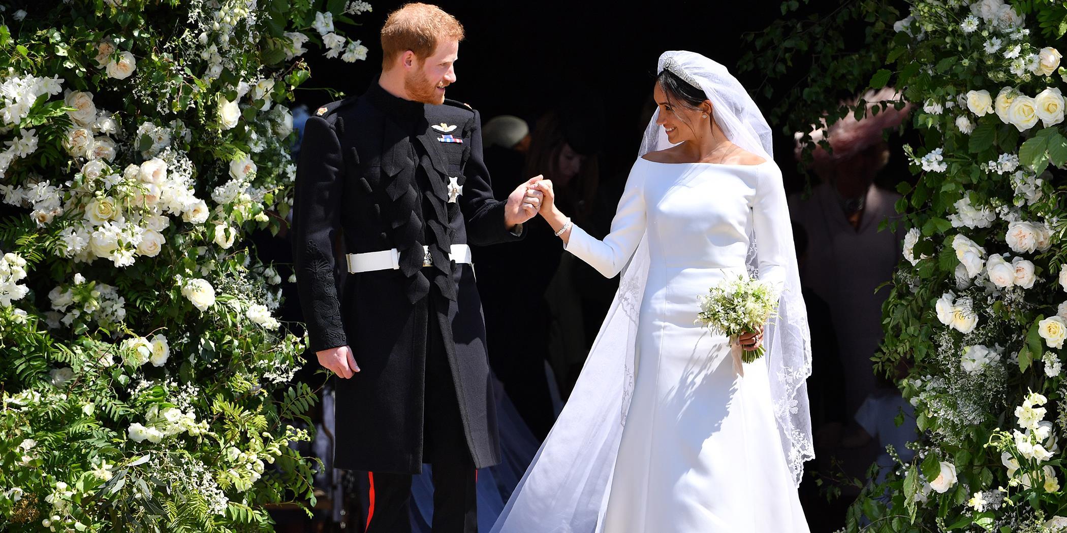 Sophie német hercegnő esküvői ruhája a megszólalásig hasonlított Meghan  Markle-ére 3a09dcc34e