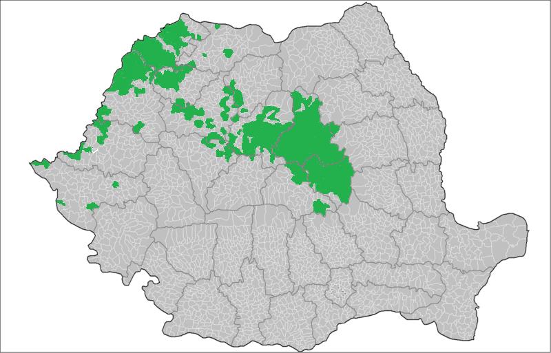 Románia magyar lakossága