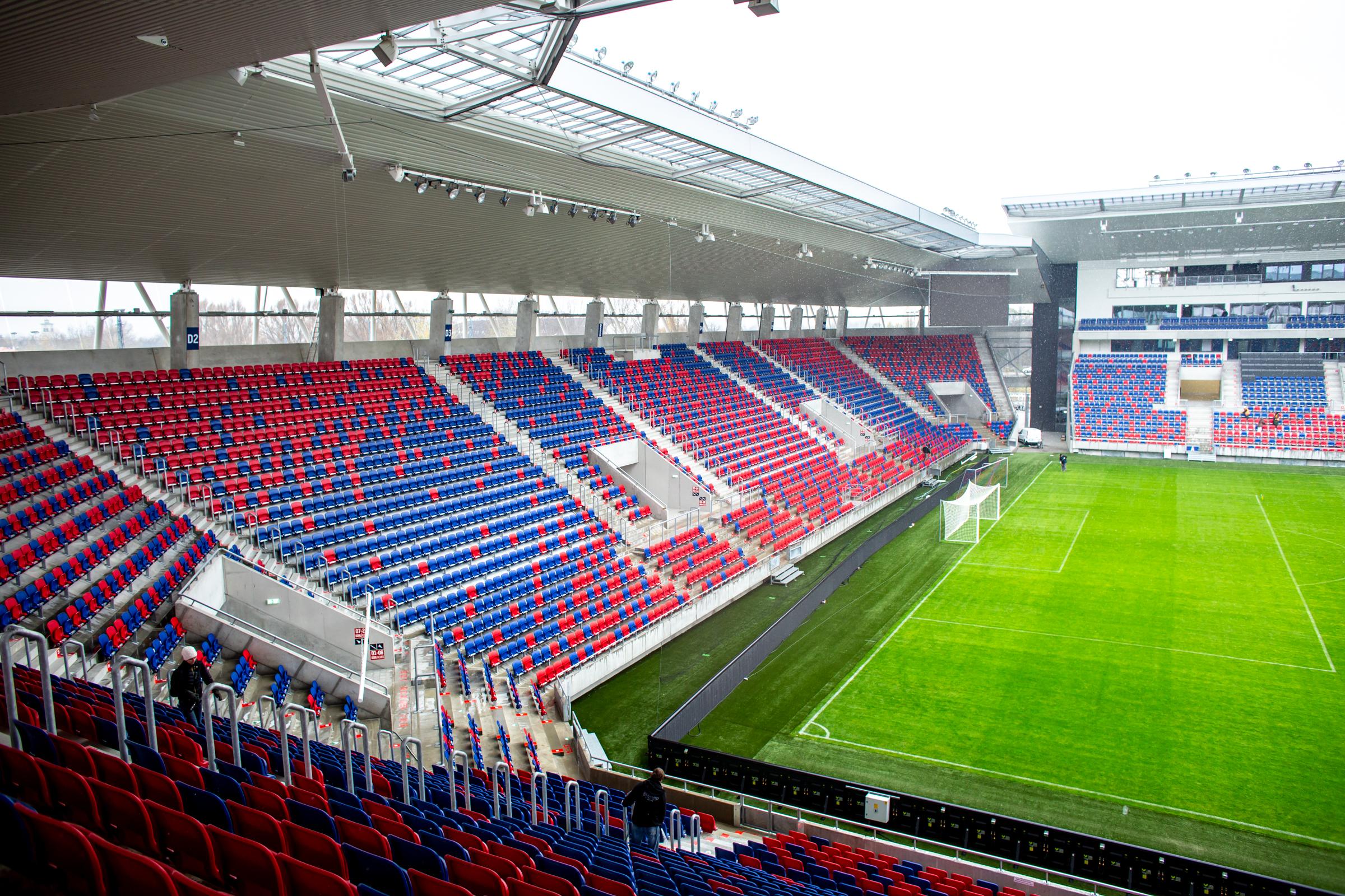 Szerda este először játszhat új stadionjában a Vidi 12e5299c6a
