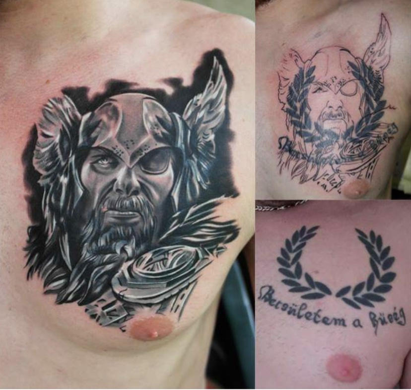 Sneider Tams In Pnik Hide The Ss Tattoo