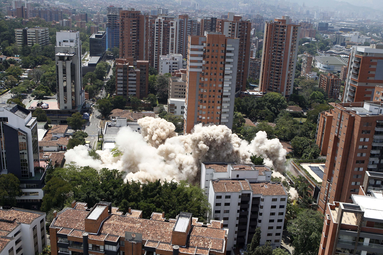 Látványos videón a drogbáró főhadiszállásának lerombolása 13f8b0a8e5