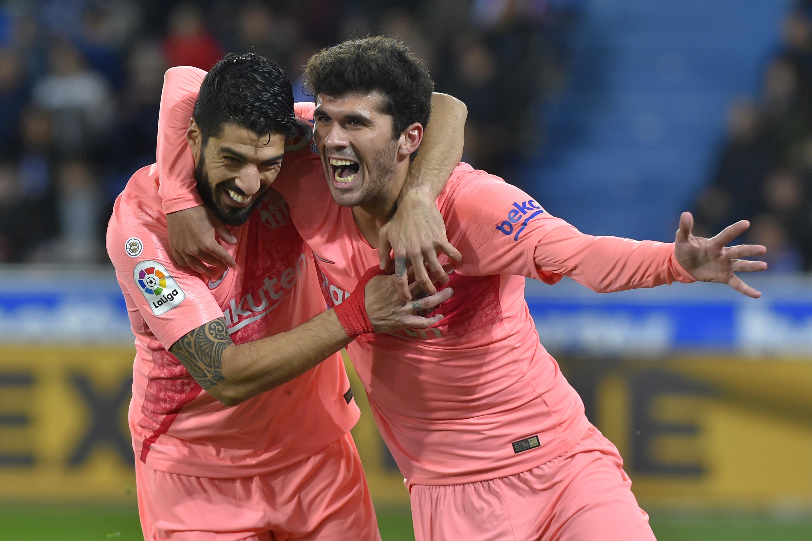 4891273a95 Messi csak fél órára állt be mozogni, de így is nyert a Barcelona
