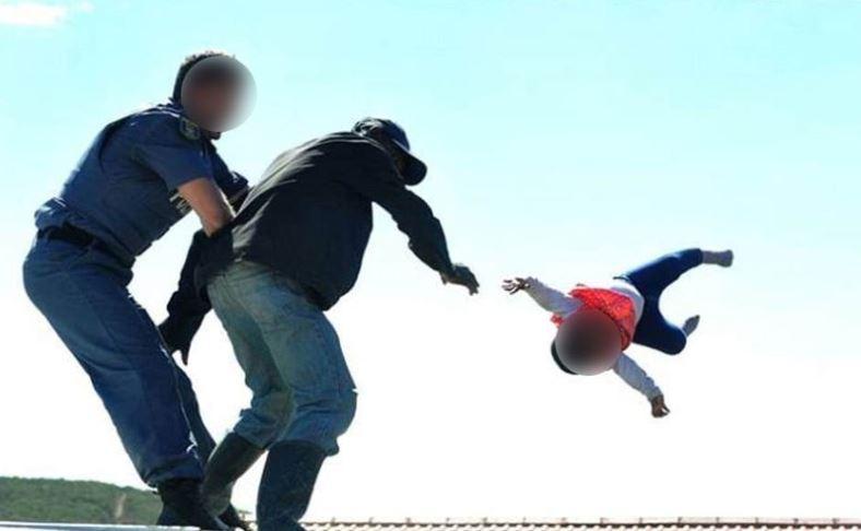 """Képtalálat a következőre: """"Sokkoló videó: a háztetőről dobta le 1 éves kislányát egy férfi"""""""