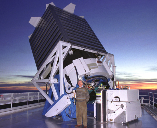 Forrás: Dan Long, Apache Point Observatory