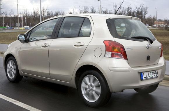 Toyota yaris 2007 méretek