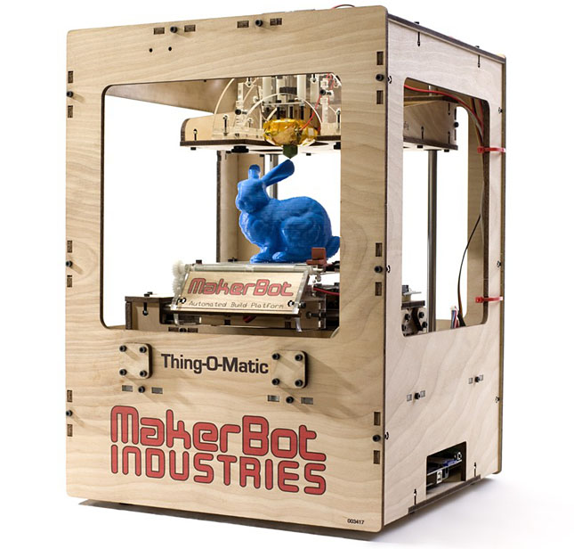 Forrás: MakerBot Industries