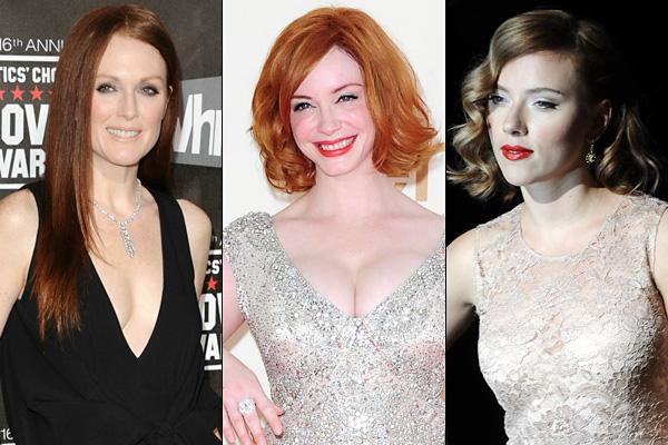 228a5356c6de Újra divat az arisztokrata bőrszín (Julianne Moore, Christina Hendricks,  Scarlett Johansson)