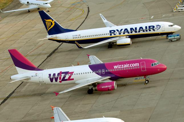37f8dea495d0 Forrás: MTI/H. Szabó Sándor. A Wizz Air ...
