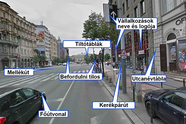 googl térkép Felturbózta magyar térképét a Google