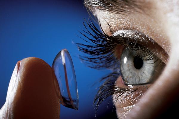 A bal szem 30% -os látása