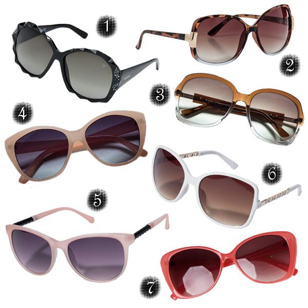 Trendi napszemüvegek - a dámástól a neonig 76184b095e