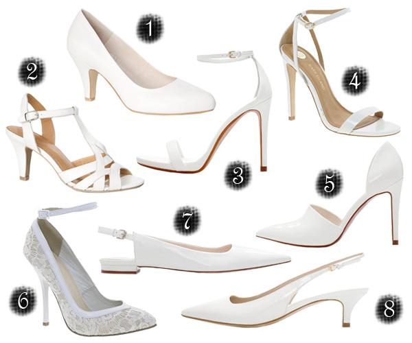 3d8ccad44d Klasszikus vagy extrém? - Cipők menyasszonyoknak