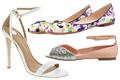 Csillámözön, vadító sarkak Cipők az ünnepekre
