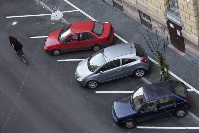Sokáig álló autó