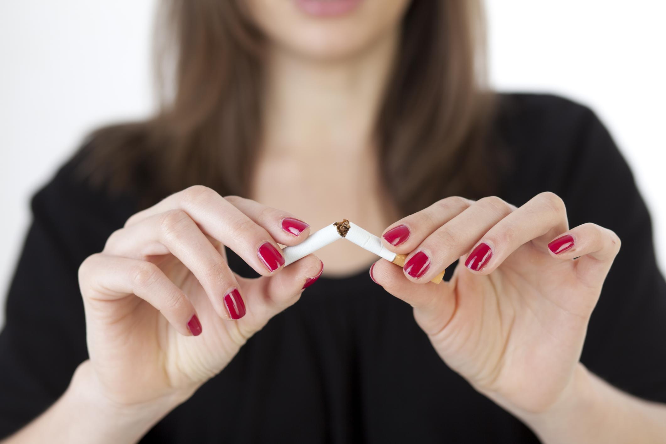 ha abbahagyja a dohányzást, helyreáll a haja