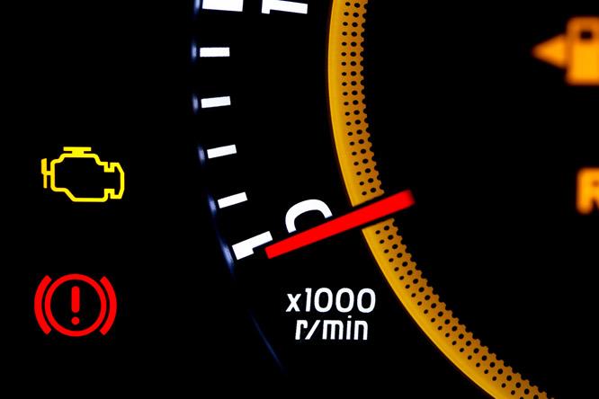 Opel Astra G műszerfal jelzések