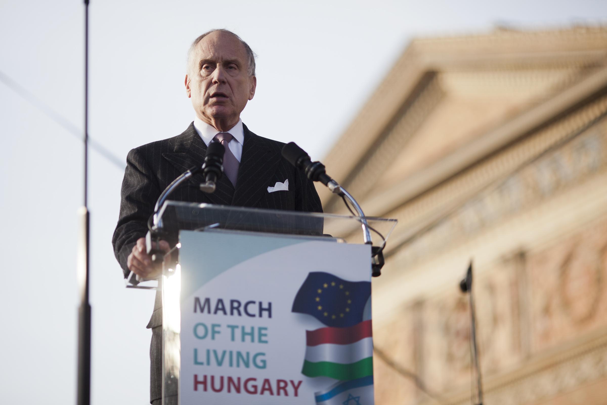 A Zsidó Világkongresszus elnöke nem hisz a Jobbiknak