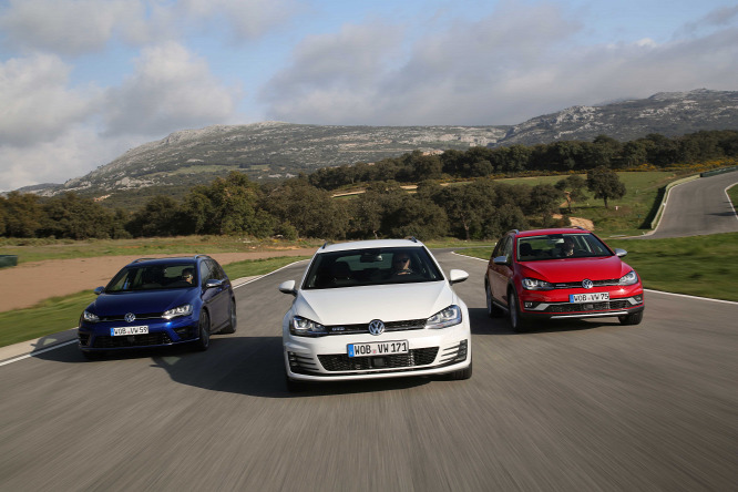 bd8dbcc6c5 A Volkswagen Golf Variant három legérdekesebb változata: R, GTD,  AlltrackForrás: Volkswagen