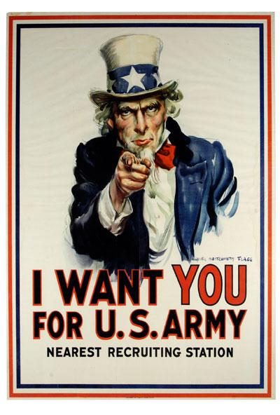 Ritka első világháborús plakátokat árvereznek el június végén