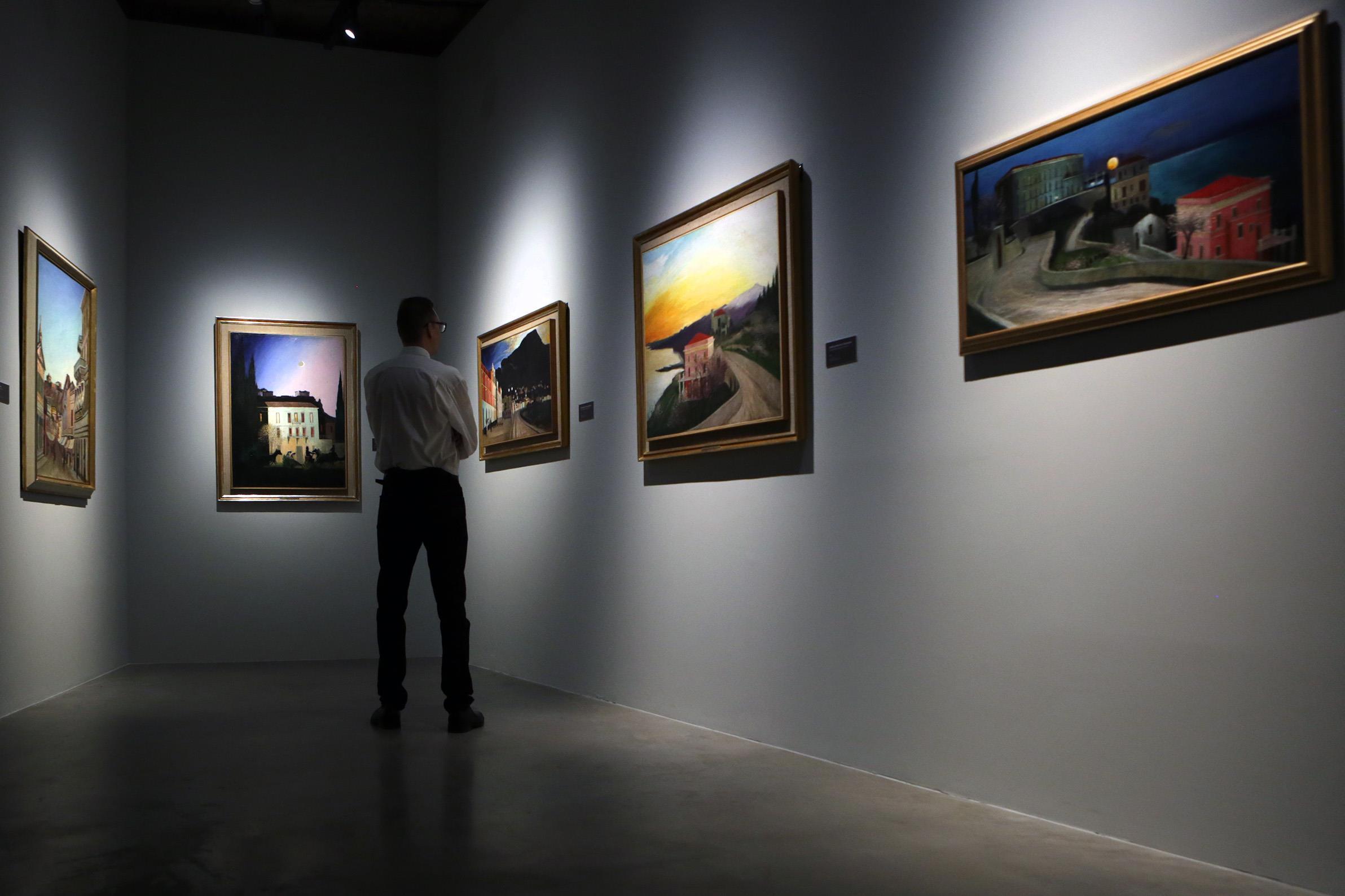 Meghosszabbították a Csontváry életművét bemutató kiállítást
