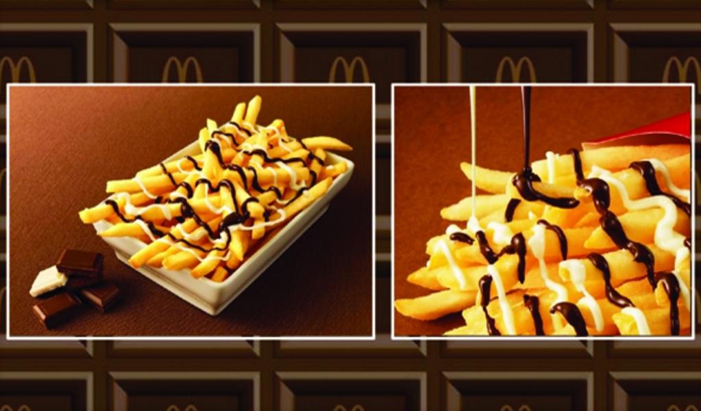 Csokis krumplival próbálkozik a McDonald s