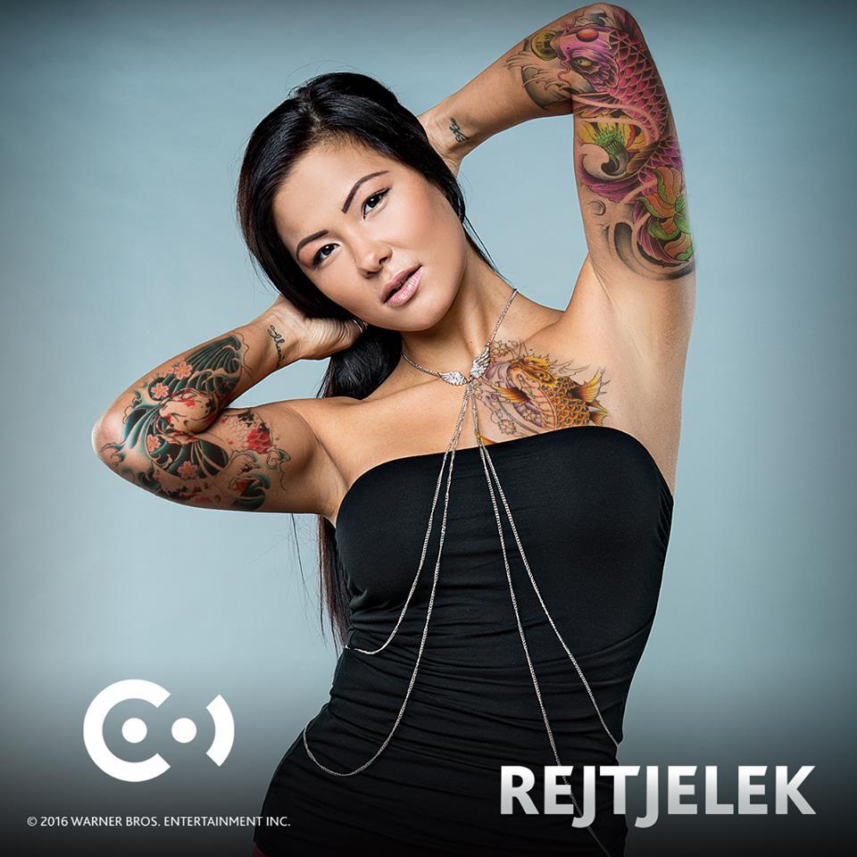 Randi lány tetoválás