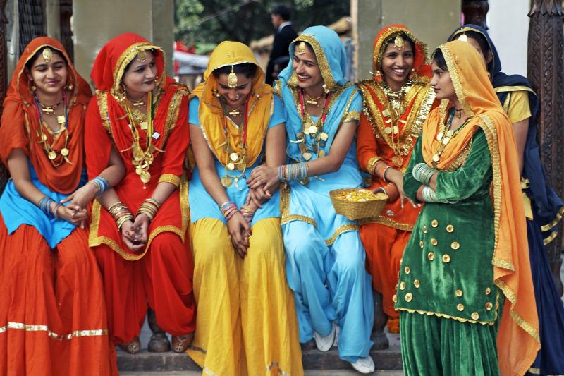 találkozik az indiai nők