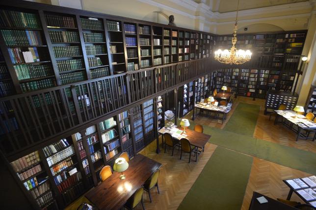 1c8c120250ab A Magyar Mezőgazdasági Múzeum könyvtárának olvasótermeForrás: MTI/Máthé  Zoltán