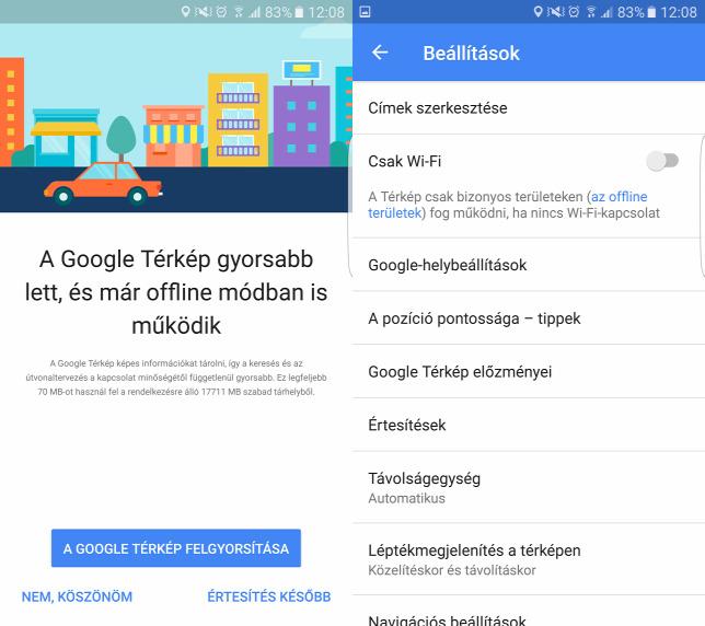 Meg Tobb Adatot Megsporolhatunk A Google Terkepekben
