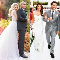 A legnagyobb sztáresküvők és a legcsillogóbb menyasszonyi ruhák 2016-ban 0dd8ef927a