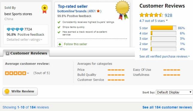 9019d17b7382 Csak a megbízható eladóktól vásároljunk. Fenn egy-egy példa látható az  Alibaba, eBay, Amazon és Tinydeal webshopokrólForrás: Origo, Alibaba, eBay,  ...