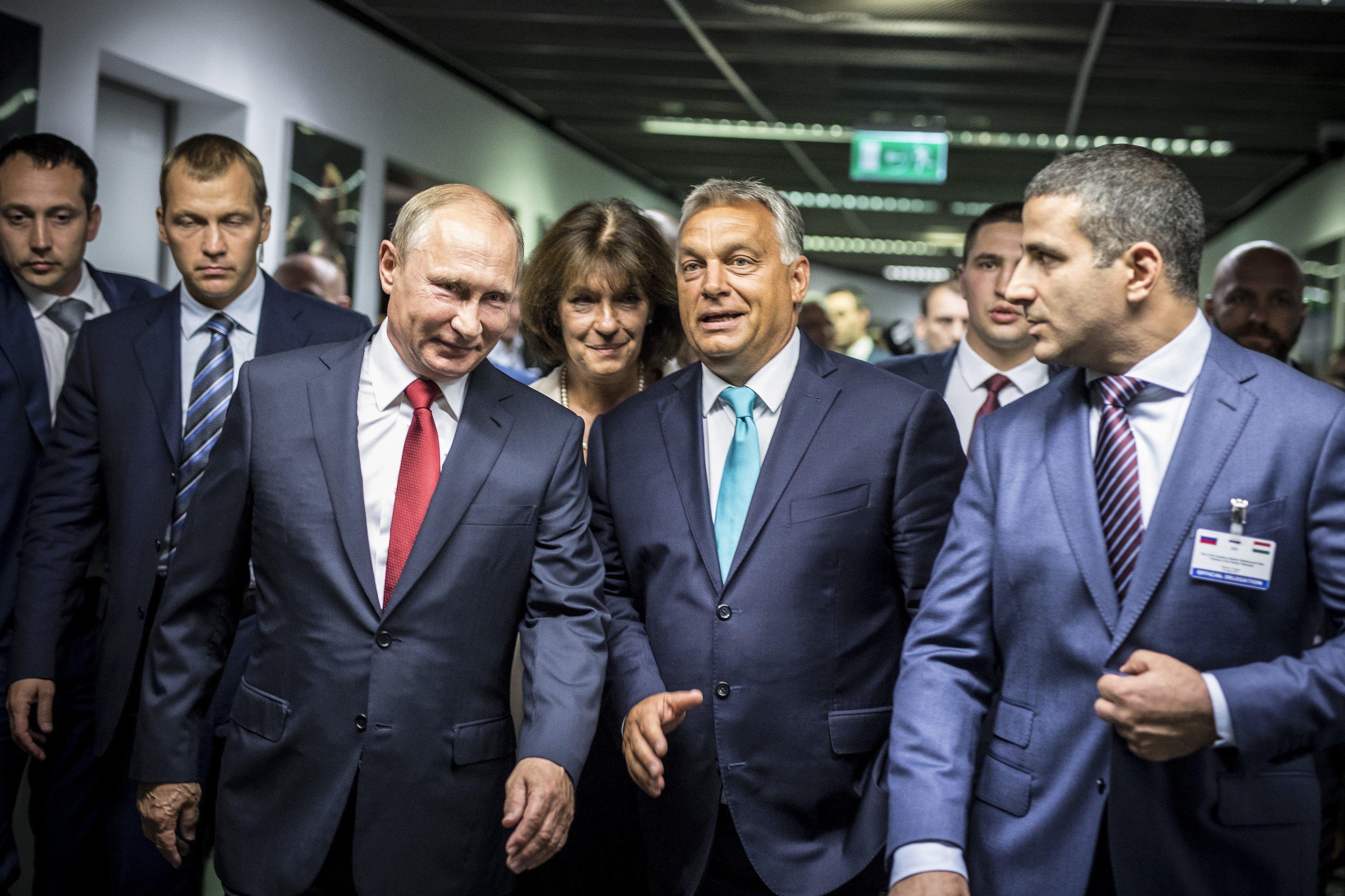 Magyar Nemzet: Putyin és Salvini is Pestre jön a jövő héten