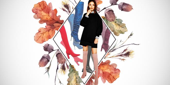 Ez az ősz legdögösebb trendje! Így viseld a magas szárú csizmát 6a27b99f03