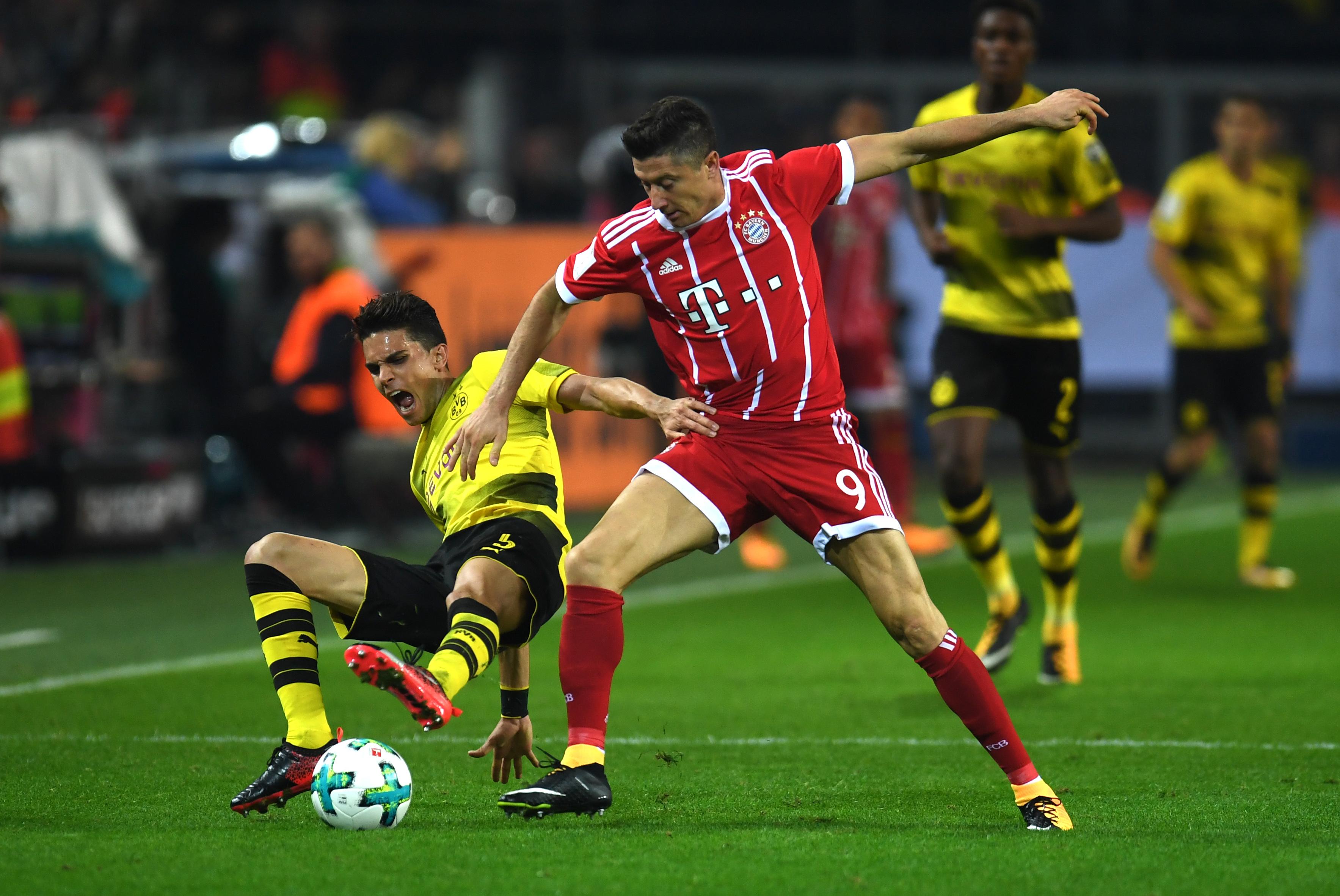Anstoß Bayern Dortmund