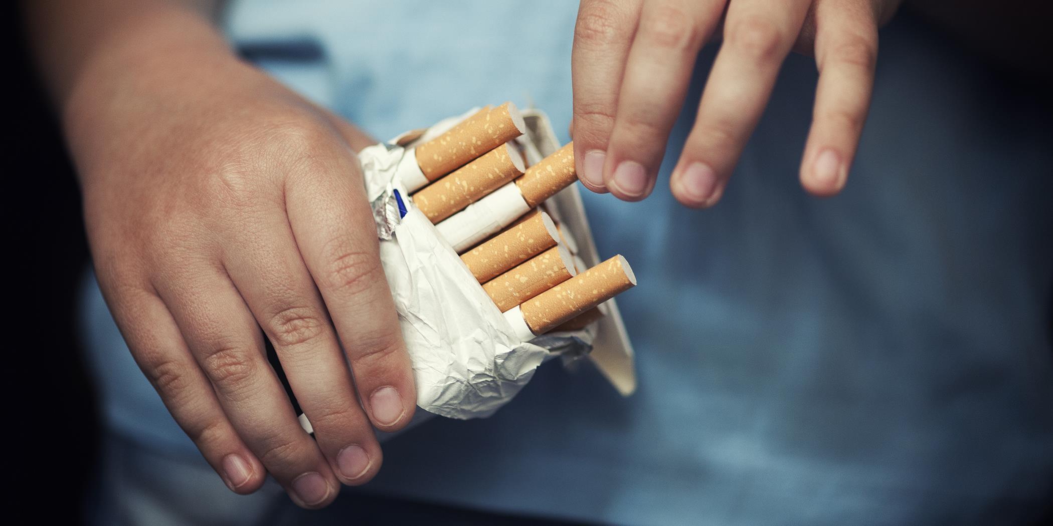 cigaretta felállítása)