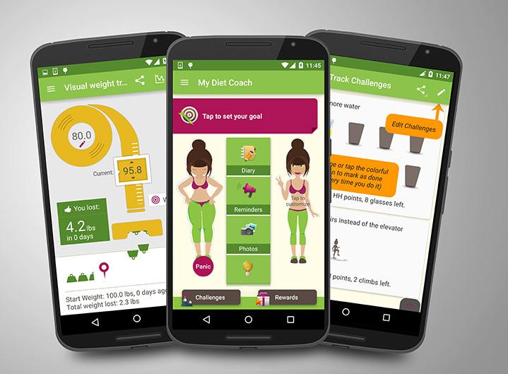 ingyenes fogyókúrás applikáció
