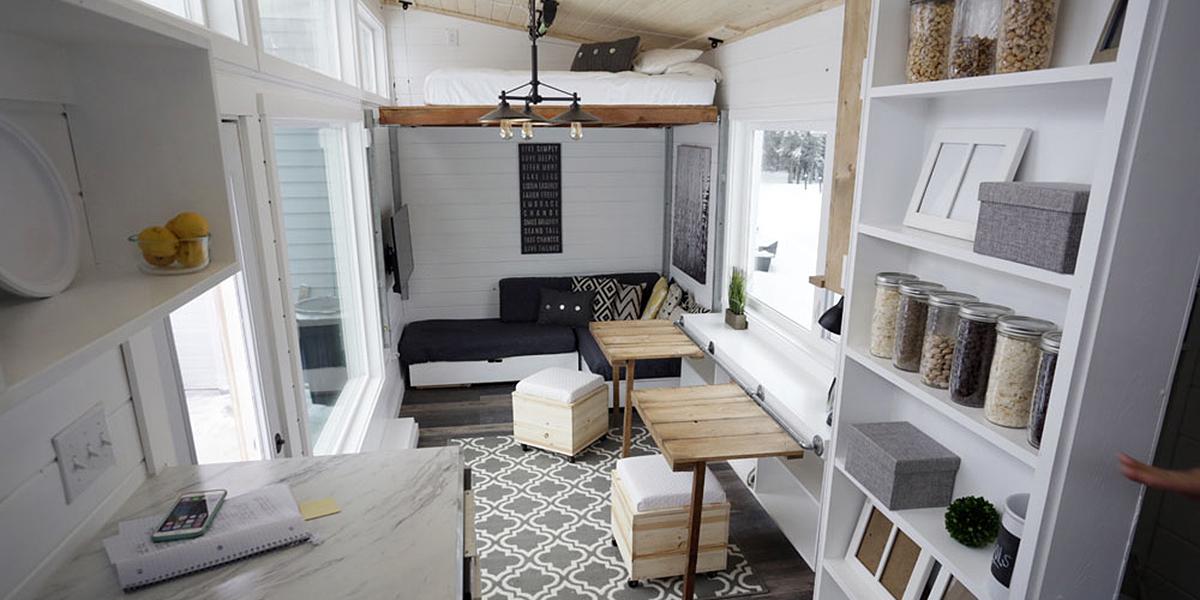 20 Négyzetméteres lakás berendezése